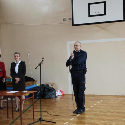 Uroczyste pożegnanie Komendanta Miejskiego Policji w Częstochowie